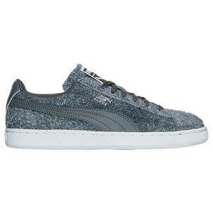 Puma Suede Elemental Gray Women's Sneaker Sz 7